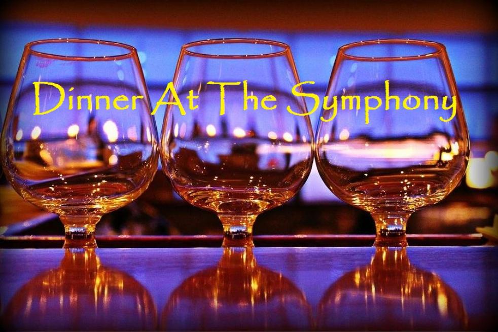 DINNER AT THE SYMPHONY - imagen de show de portada