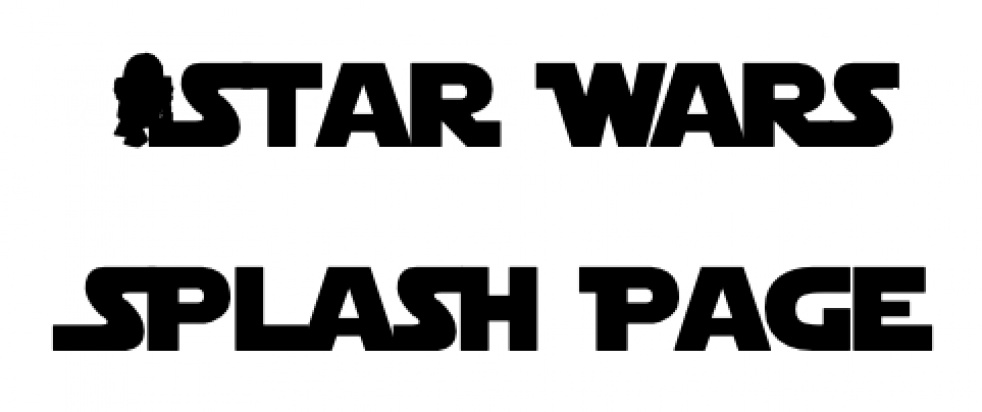 Star Wars Splash Page - Comics In Review - imagen de portada