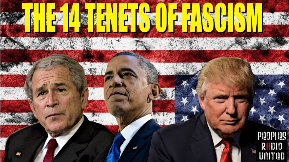 The 14 Tenets Of Fascism - show cover