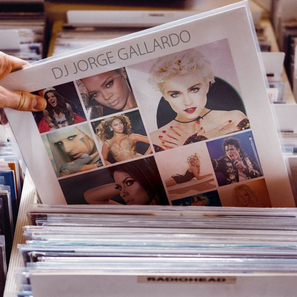 3HitsMixed By DJ Jorge Gallardo - show cover