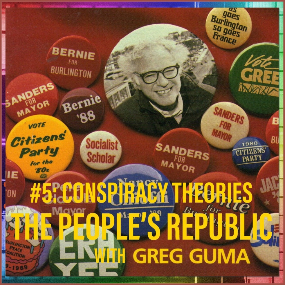 People's Republic: #5 Conspiracies - show cover