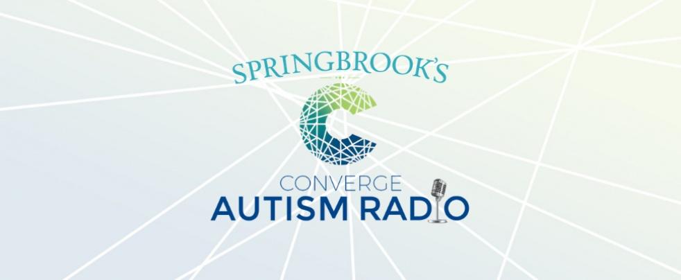 Springbrook's Converge Autism Radio - imagen de show de portada