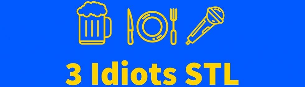 3 Idiots In St. Louis - imagen de show de portada