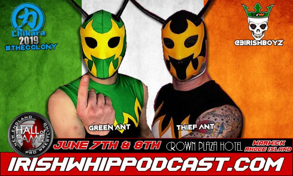 Irish Whip Podcast - Cover Image