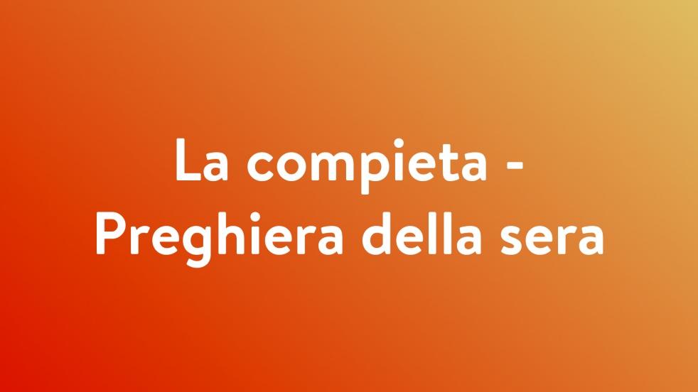 Compieta - Cover Image