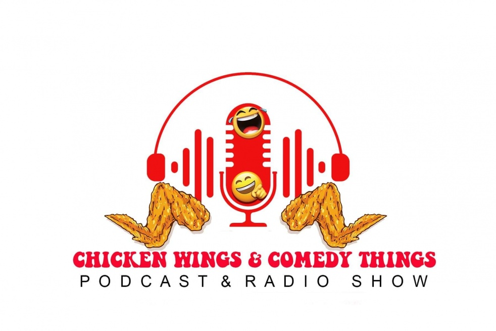 Chicken Wings and Comedy Things - Cover Image