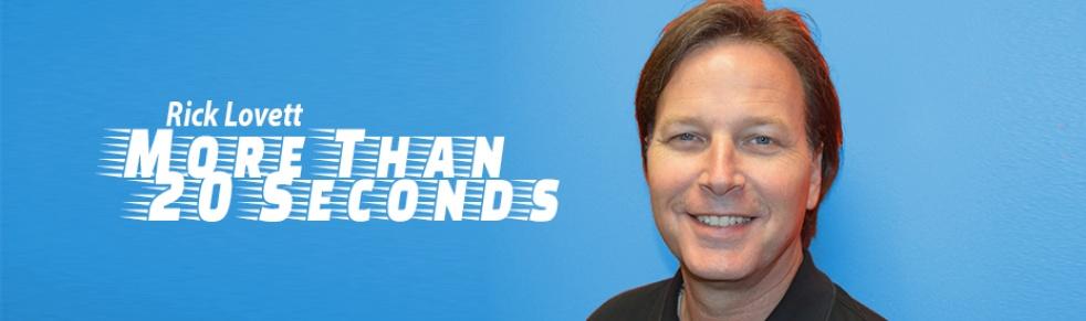 Rick Lovett - More Than 20 Seconds - imagen de portada