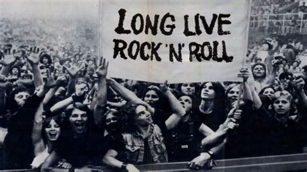 Rock 'n' Roll Jungle - imagen de show de portada
