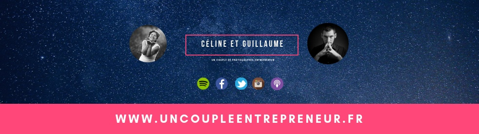 Le podcast d'un couple d'entrepreneur - Cover Image
