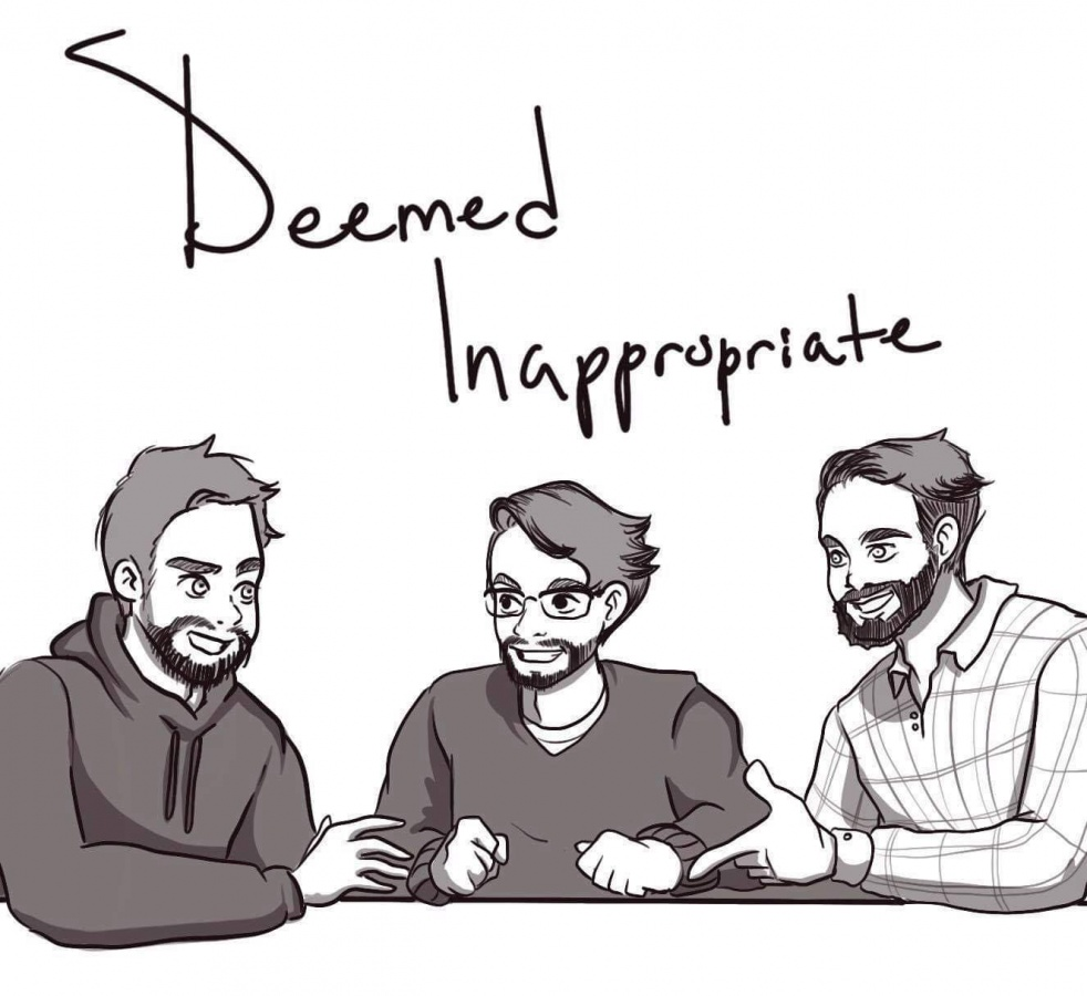 Deemed Inappropriate Podcast - Cover Image