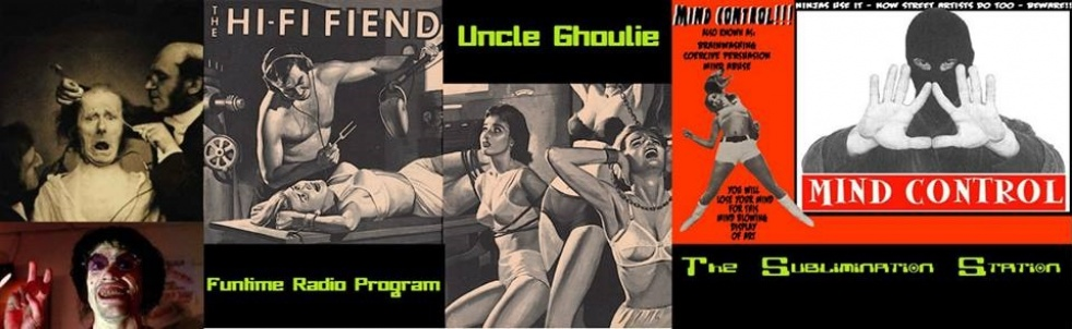 Uncle Ghoulie's Fun Time Radio Program - show cover
