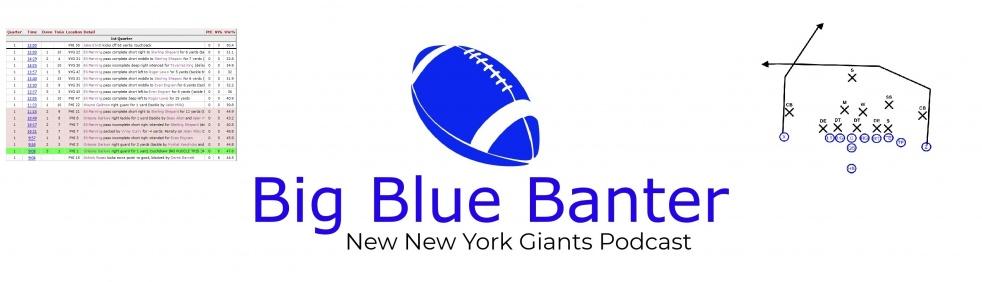 Big Blue Banter - immagine di copertina dello show