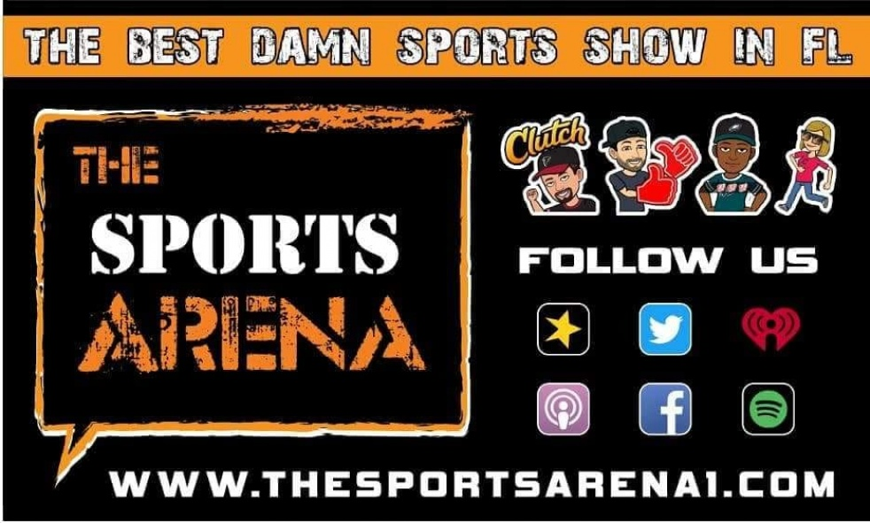 The Sports Arena - show cover