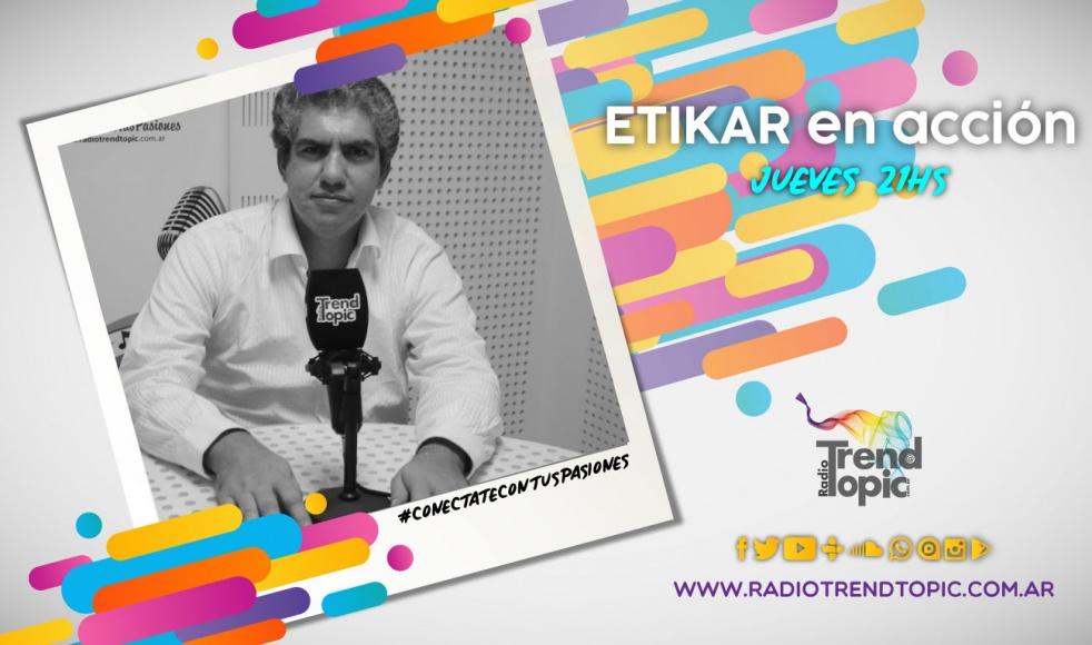 Etikar - Radio Trend Topic - imagen de show de portada