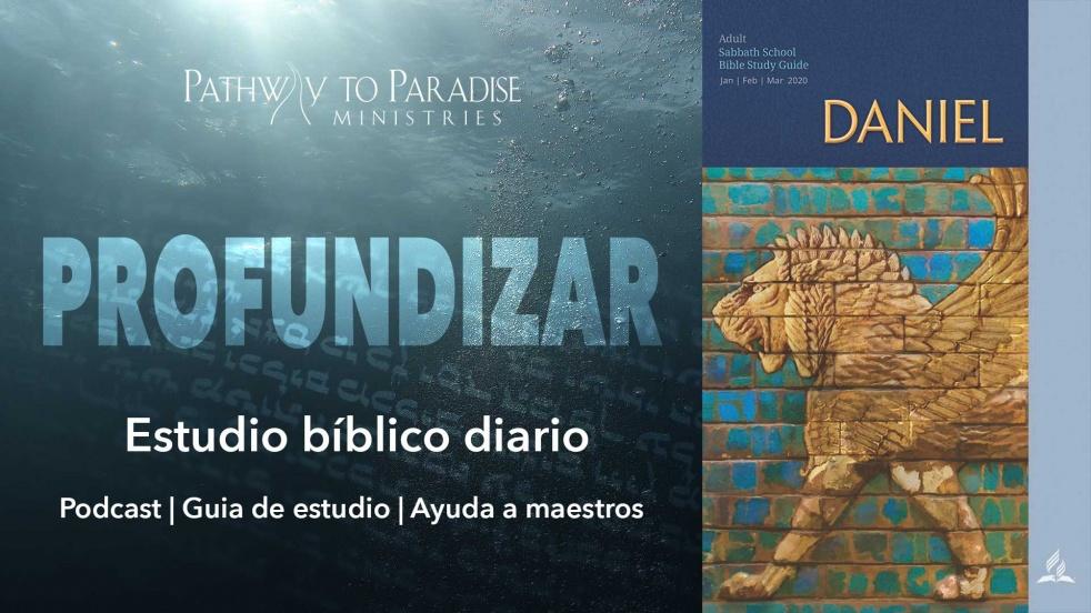 Profundizar: El libro de Daniel - imagen de portada