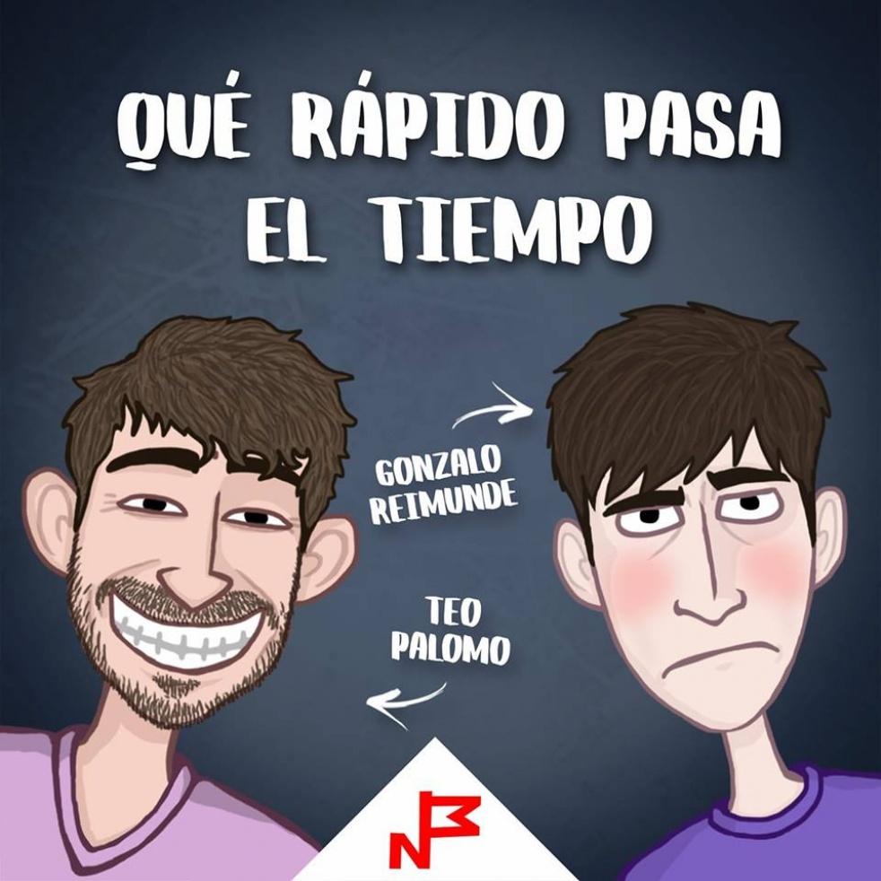 Qué Rápido Pasa El Tiempo - imagen de show de portada