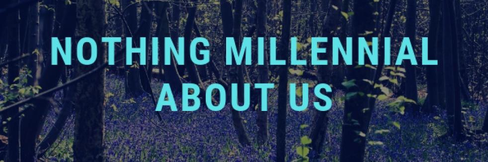 Nothing Millennial About Us - imagen de show de portada