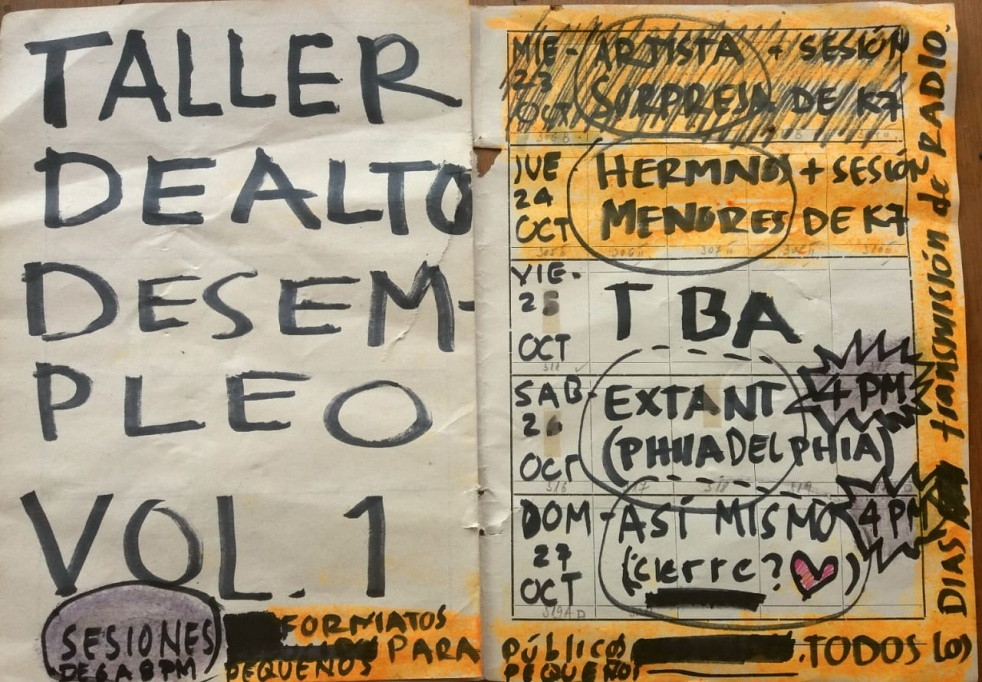 Taller de Alto Desempleo - Cover Image