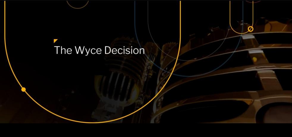 The Wyce Decision - show cover