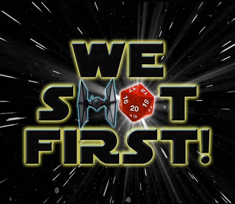 "Star Wars Saga ed. ""WE SHOT FIRST!"" - immagine di copertina dello show"