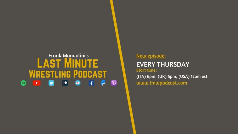 Last Minute Wrestling Podcast - immagine di copertina