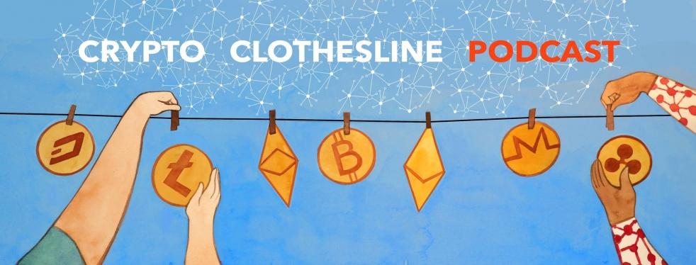 Crypto Clothesline's Podcast - imagen de show de portada