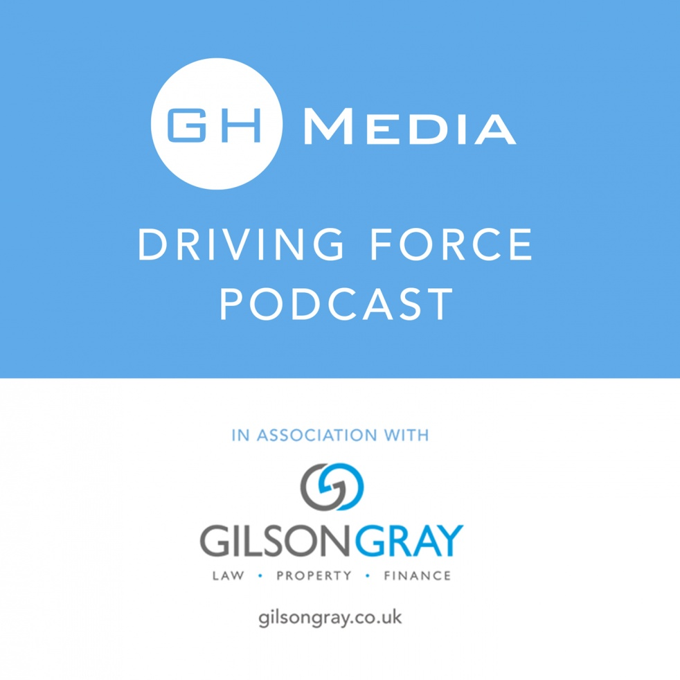 The GH Media Driving Force Podcast - imagen de show de portada