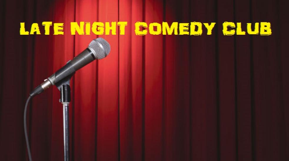 LATE NIGHT COMEDY CLUB - imagen de show de portada