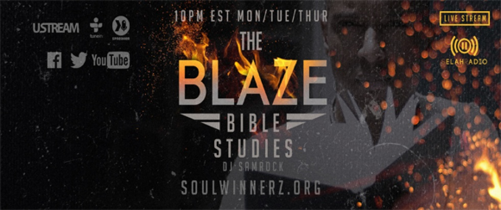 The BLAZE (Bible Study) - show cover