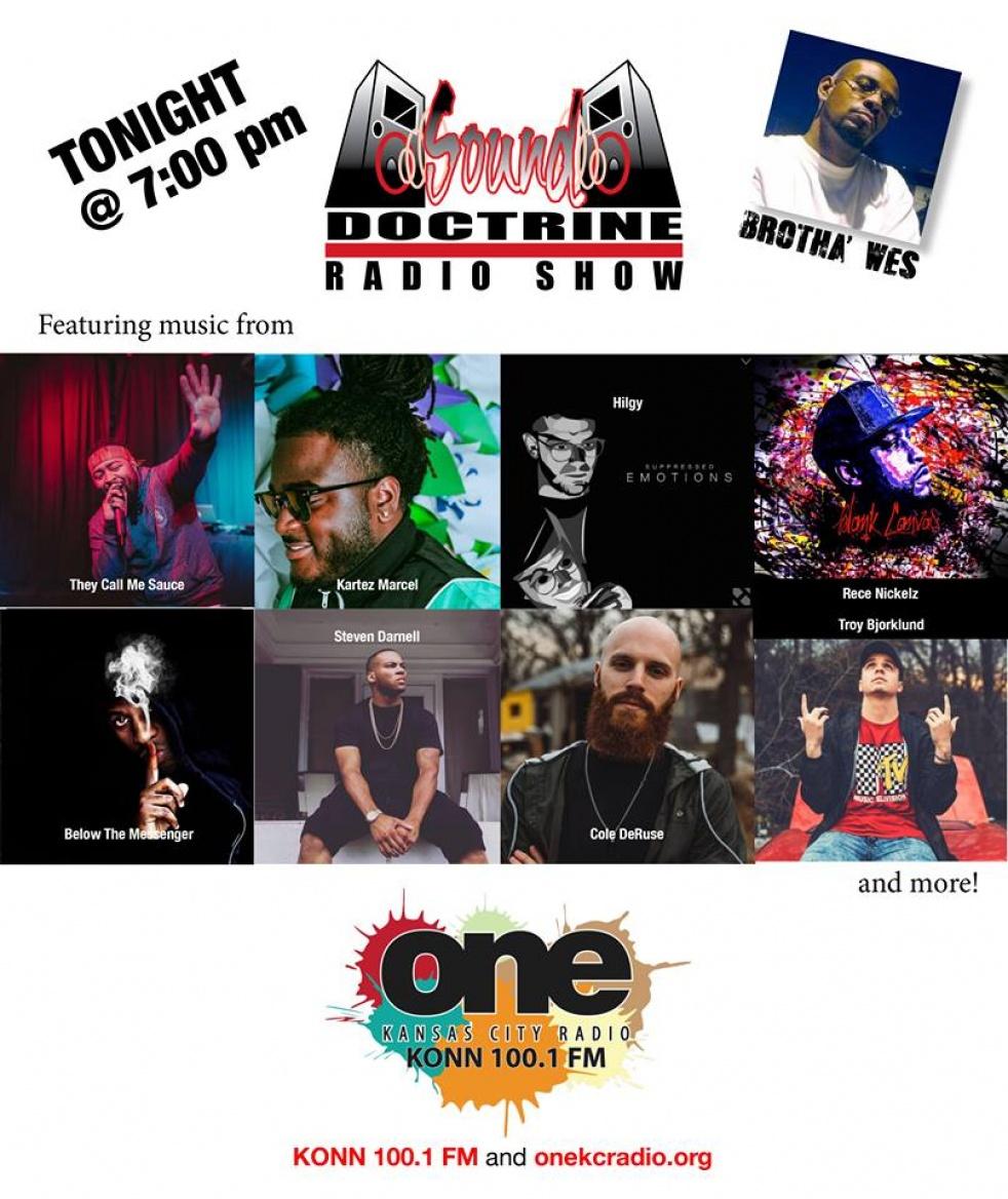 Sound Doctrine Radio - imagen de show de portada