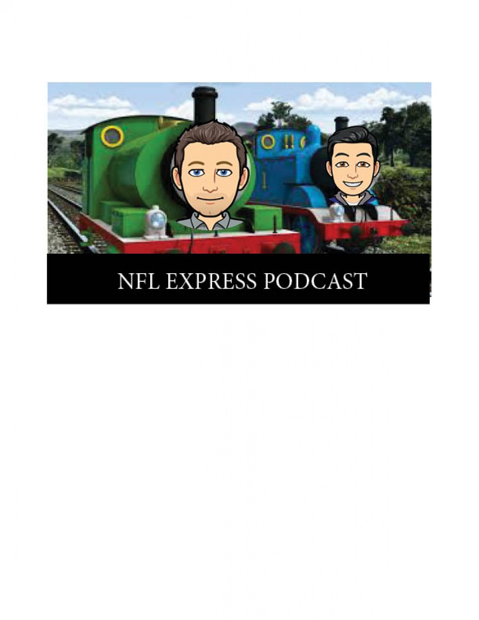 NFL Express Podcast - imagen de show de portada