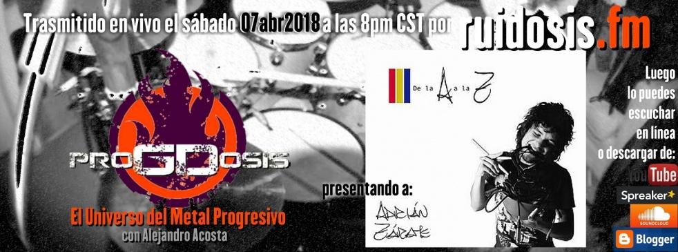 proGDosis - imagen de show de portada
