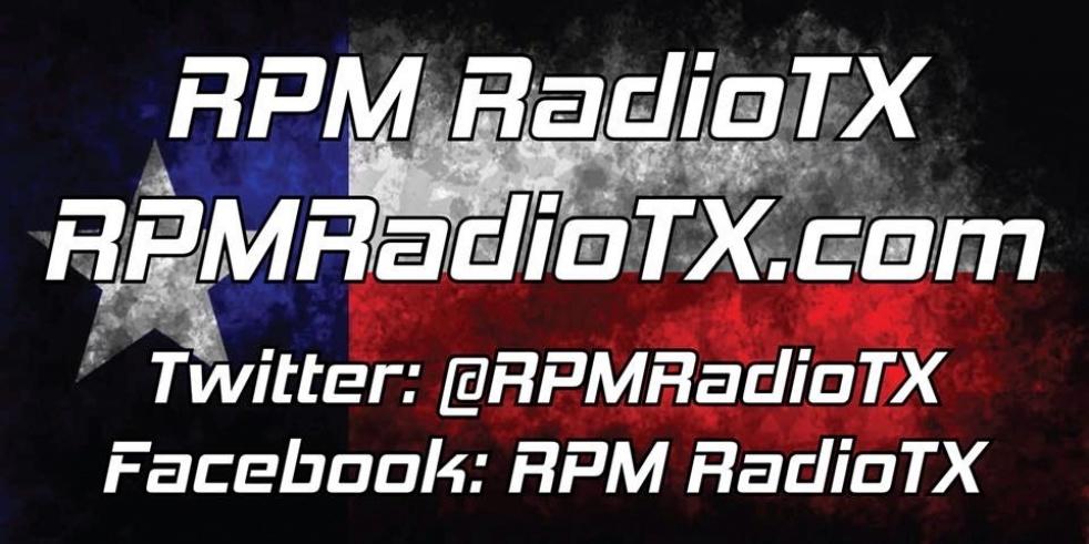 RPM Radio TX - show cover