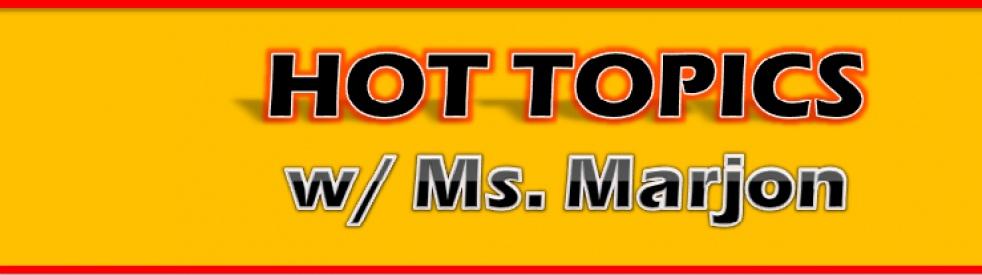 Hot Topics w/ Ms. Marjon - immagine di copertina