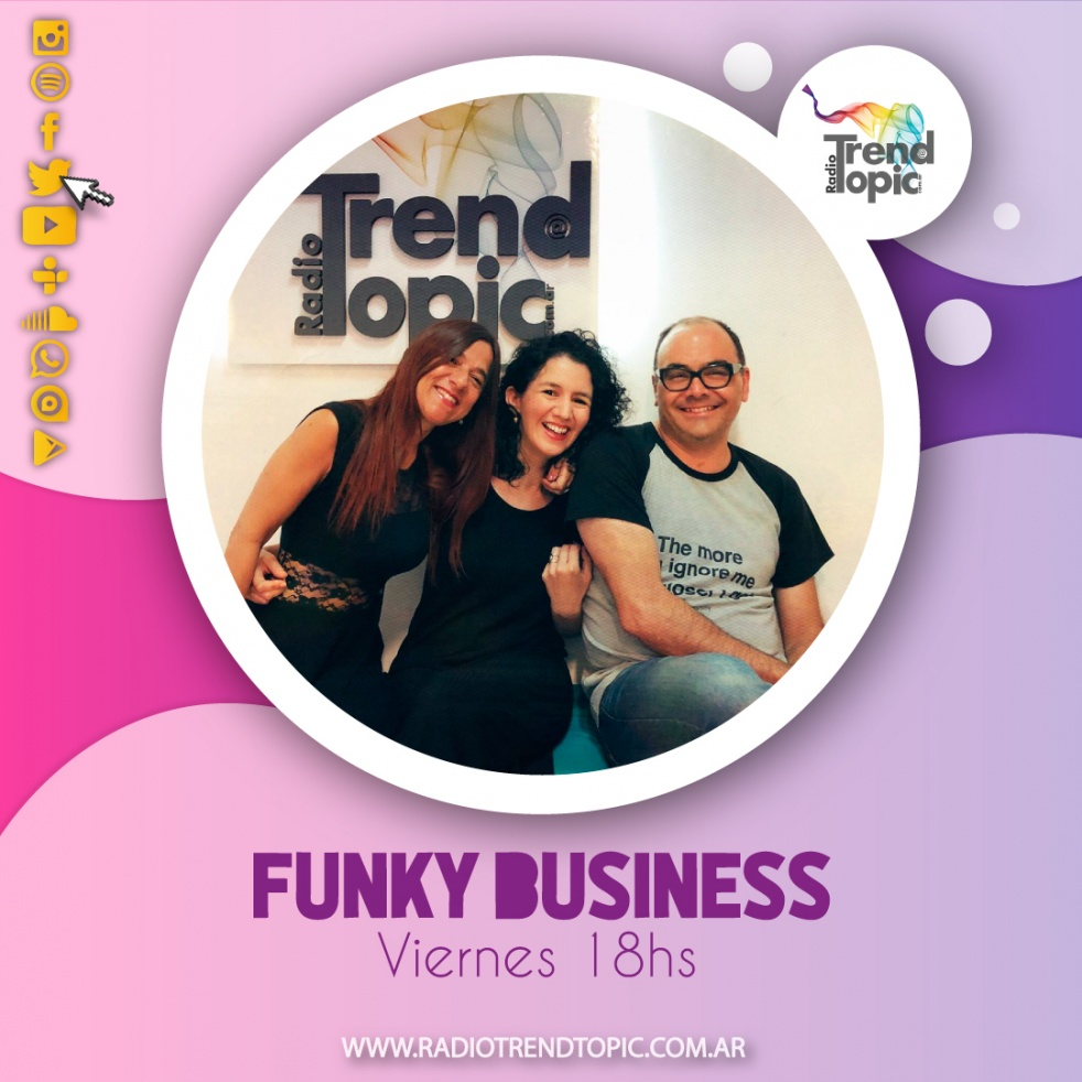Funky Business - Radio Trend Topic - show cover