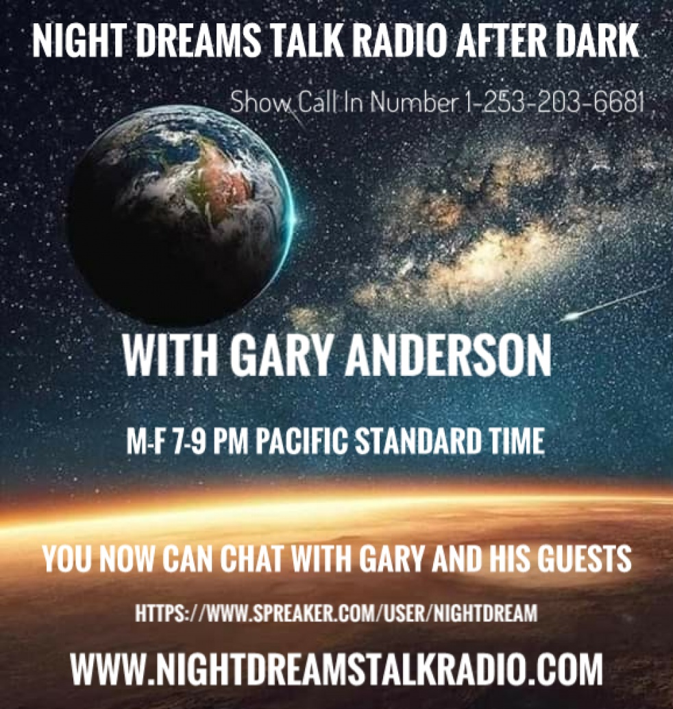 Night Dreams Talk Radio After Dark - imagen de show de portada