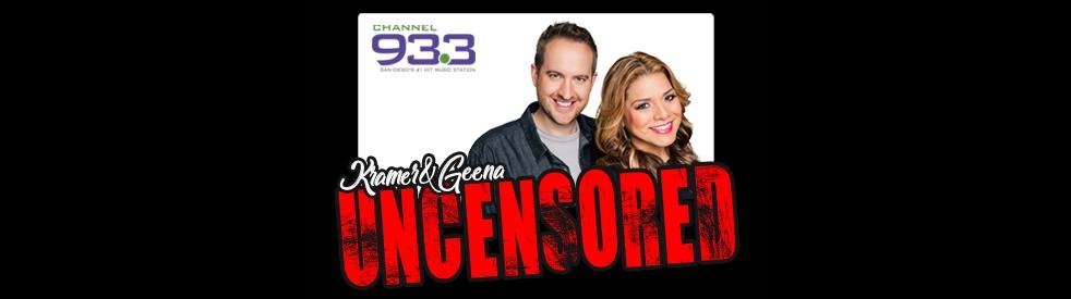 Kramer & Geena Uncensored - imagen de show de portada