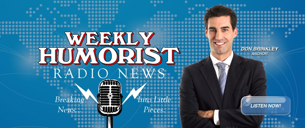 Weekly Humorist Radio News - show cover