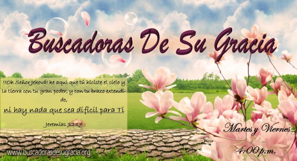 Buscadoras De Su Gracia - Cover Image
