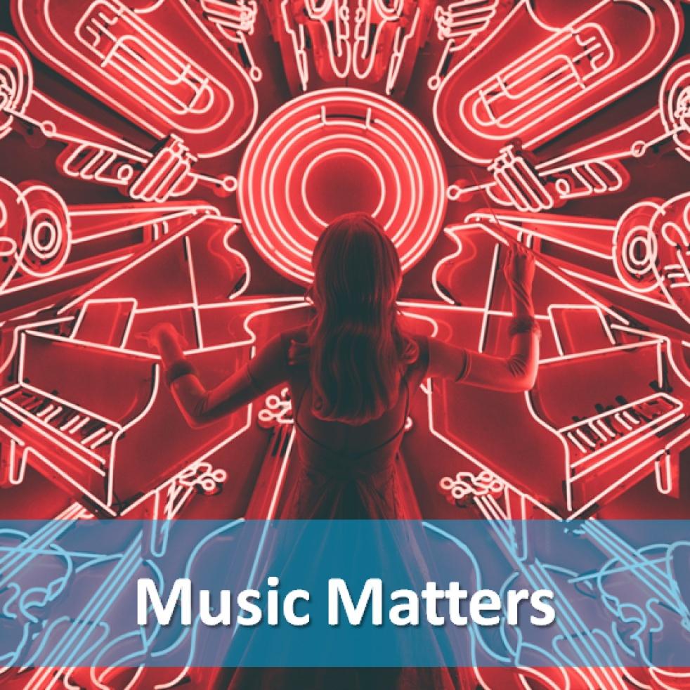 Music Matters - imagen de show de portada