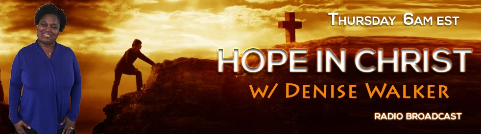 Hope In Christ w/ Denise - show cover