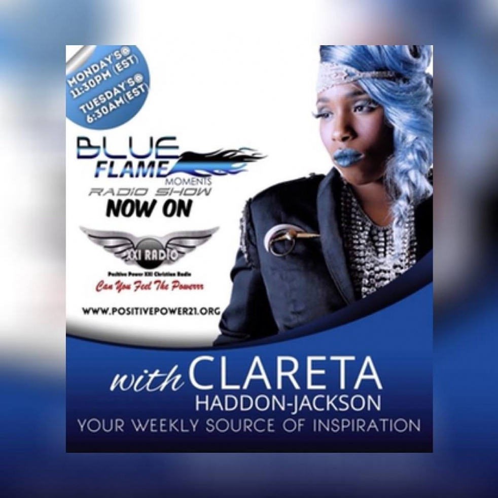 Blue Flame Moments with Clareta - show cover