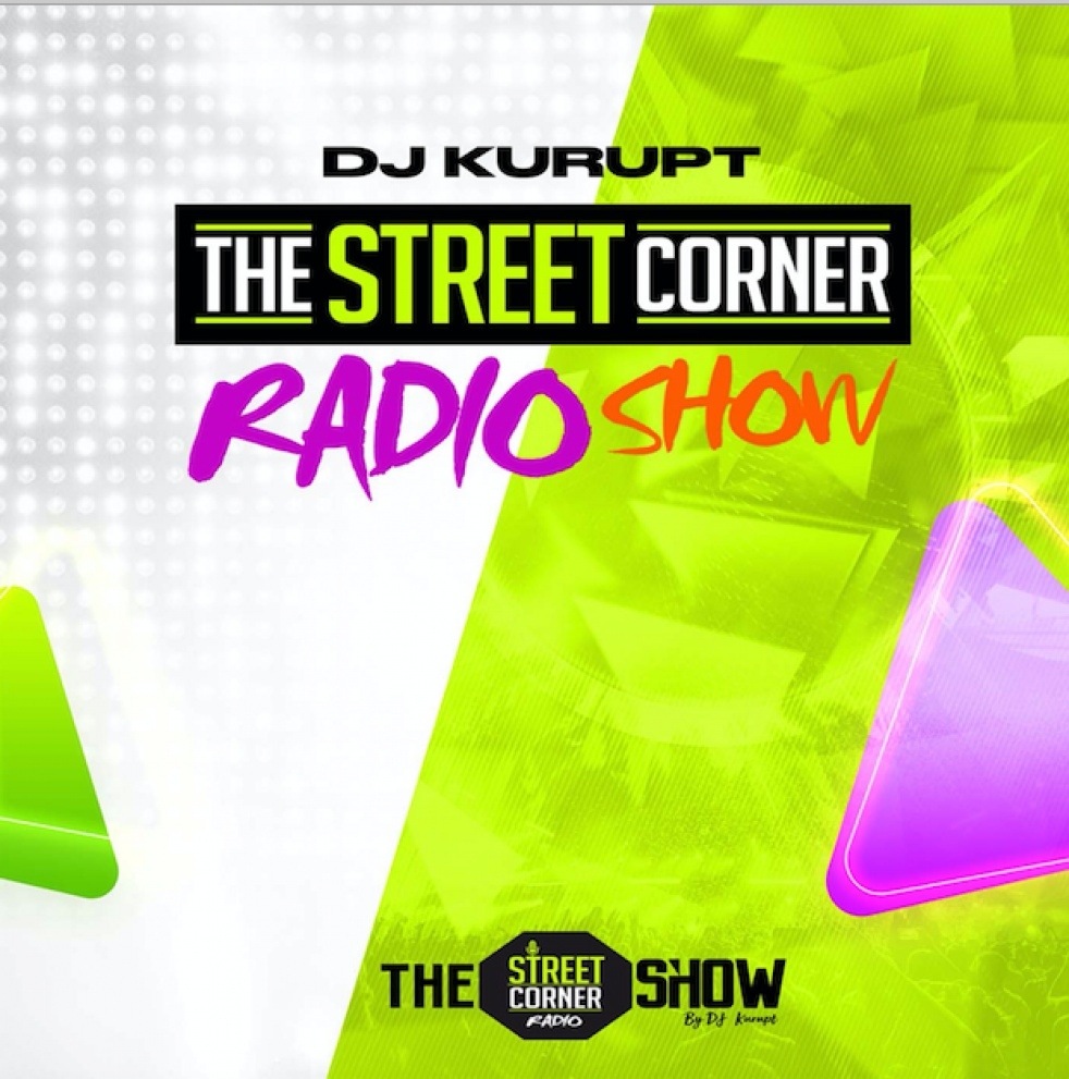 DJ Kurupt - The Streetcorner Radio Show - imagen de portada