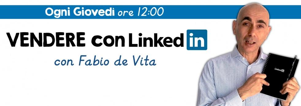 Vendere con LinkedIn - show cover
