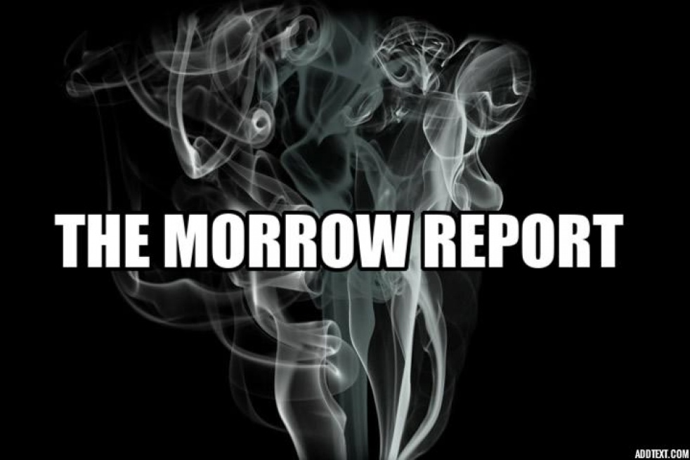 THE MORROW REPORT PODCAST - show cover