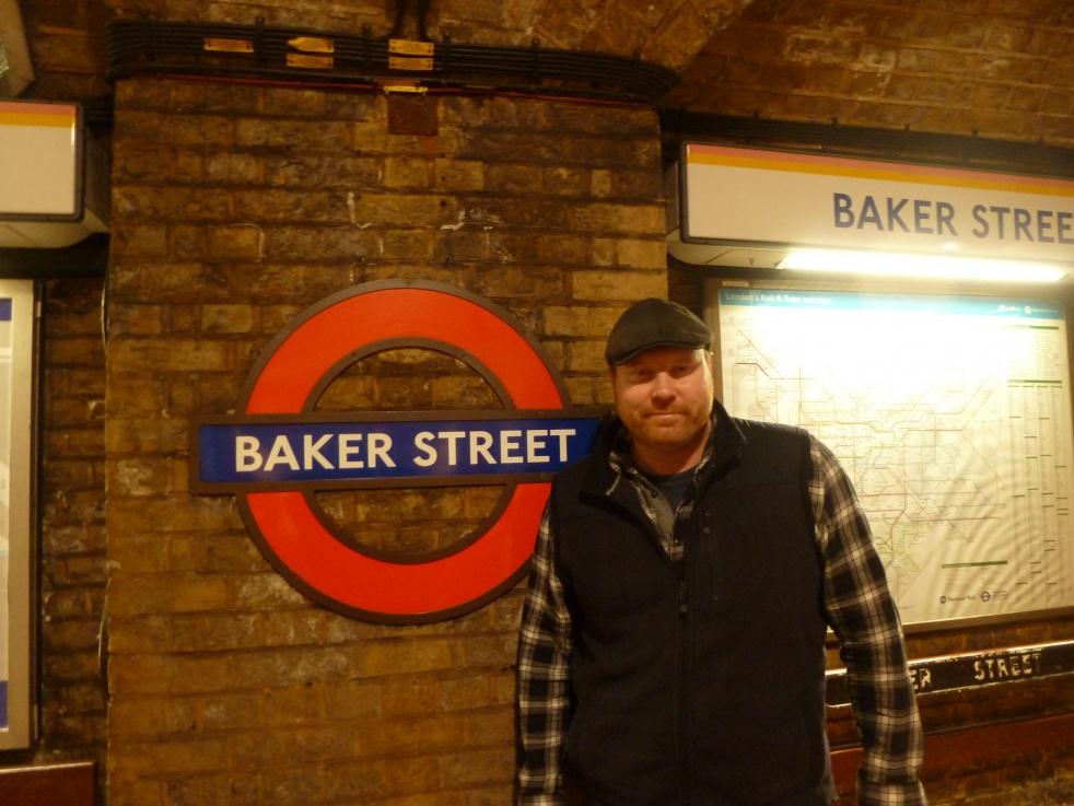 Sherlock Holmes - imagen de show de portada