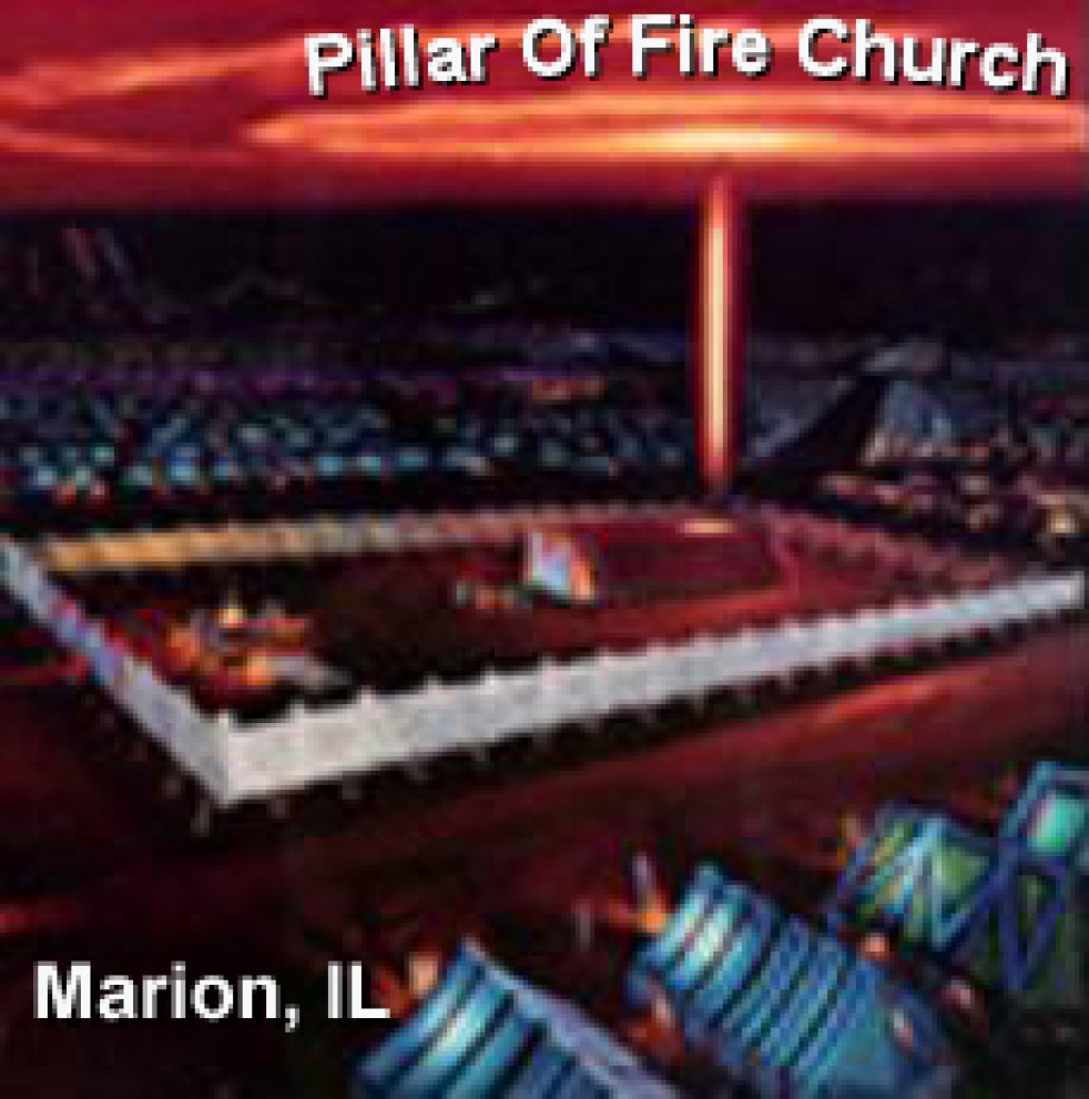Pillar of Fire Church, Marion, Il - show cover