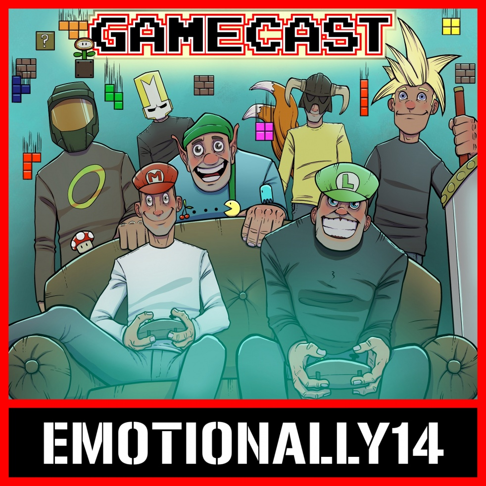 The E14 Gamecast - show cover