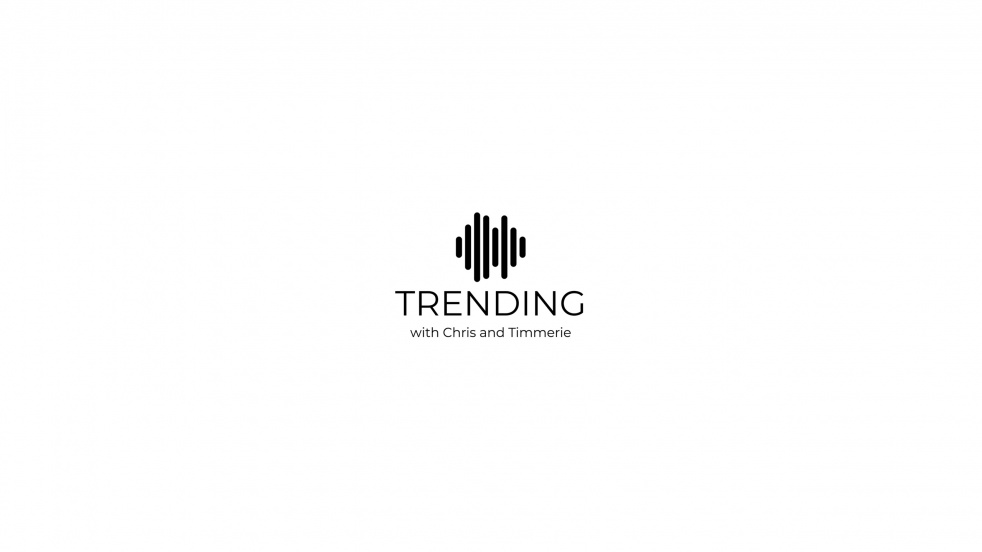 Trending with Chris and Timmerie - show cover