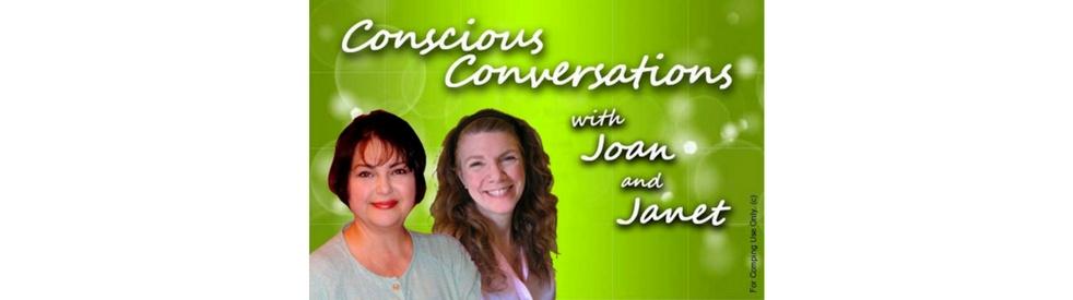 Conscious Conversations w/ Joan & Janet - imagen de show de portada